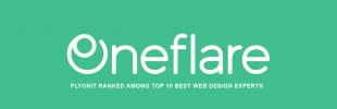 FLYONIT Ranked Among Top 10 Best Web Design Experts in Oneflare