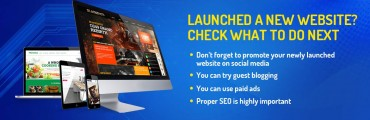 Launched a new website? Check what to do next