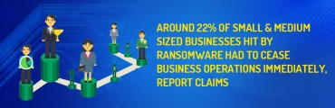 Around 22% of small & medium sized businesses hit by ransomware had to cease business operations immediately, report claims