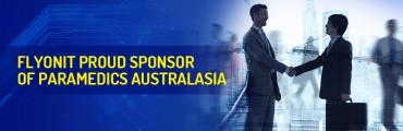 FLYONIT Proud Sponsor of Paramedics Australasia