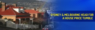 Sydney & Melbourne property prices expected to fall by up to 4 per cent