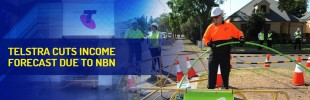 Telstra cuts income forecast due to NBN